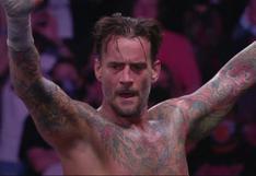 No pierde el toque: CM Punk brilló en su primera lucha en más de siete años en AEW [VIDEO]