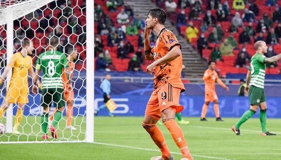 El equipo de Pirlo goleó en Budapest por la Champions League. (Foto: Juventus)