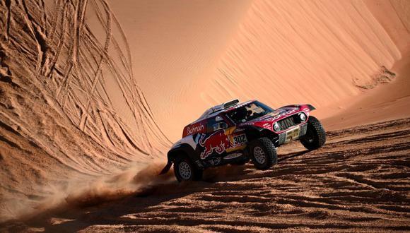 Stéphane Peterhansel ganó la penúltima etapa del Dakar 2020. (AFP)