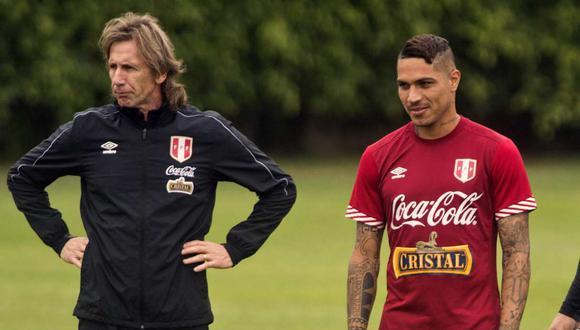 Ricardo Gareca habló del presente de Paolo Guerrero. (Foto: AFP)