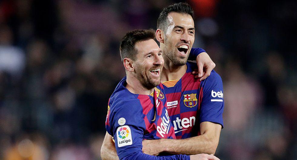 Messi y Busquets descansaron ante Ibiza por Copa del Rey y volverán en Mestalla. (Getty)