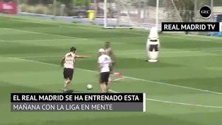 El Real Madrid continúa sus entrenamientos con mentalidad a LaLiga