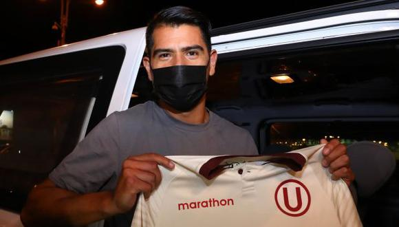 Enzo Gutiérrez pasará por pruebas médicas este lunes. (Foto: Universitario)