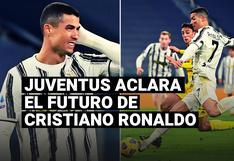 Director deportivo de la 'Juve' despejó dudas sobre el futuro de Cristiano Ronaldo