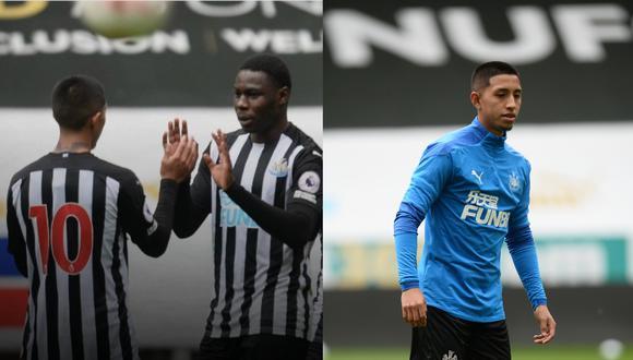 Rodrigo Vilca se estrenó con la camiseta del Newcastle United.