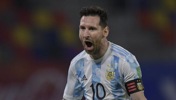 """Messi opinó que Argentina llega """"en un buen momento"""" a la Copa América. (Foto: AFP)"""