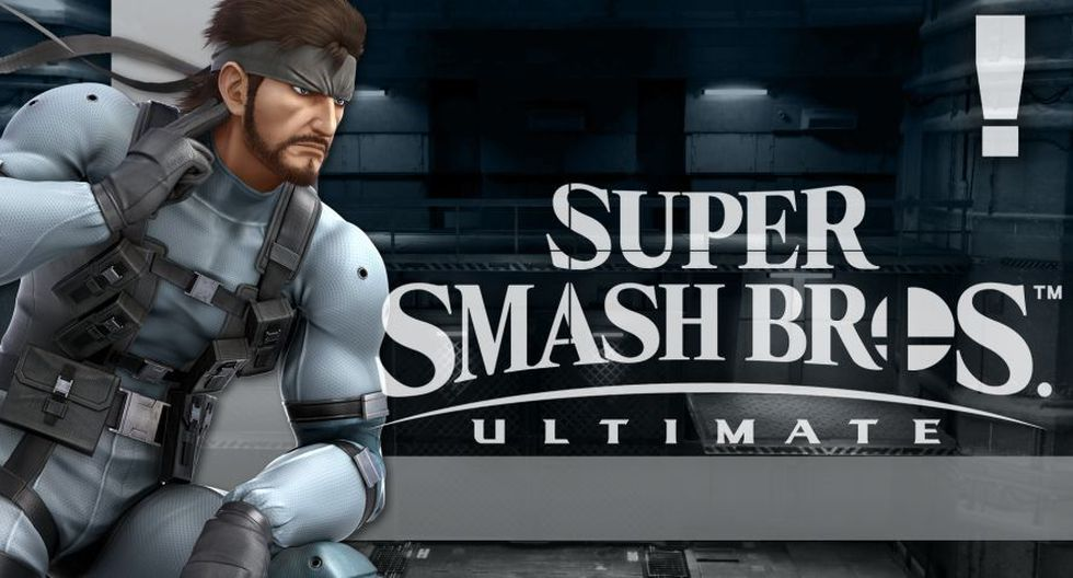 Snake en Super Smash Bros. Ultimate