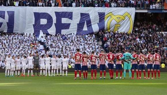 Jugadores del fútbol español en contra de volver a competir sin permiso de autoridades sanitarias. (Getty)
