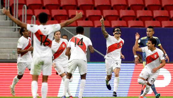Gianluca Lapadula jugó los siete partidos de la Copa América (EFE/Joedson Alves)