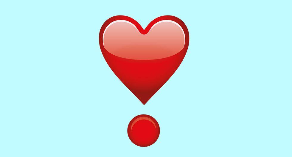 ¿Sabes qué es lo que realmente significa el corazón con un pequeño círculo rojo de WhatsApp? Conoce el nuevo emoji.