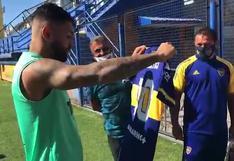 'Guiño' a River: el regalo de Boca Juniors a 'Gabigol' a un año de la final de la Copa Libertadores en Lima