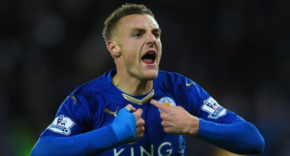 4. Jamie Vardy - Leicester City - 17 goles - 34 goles (Getty)