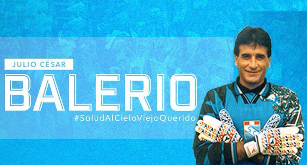 Julio César Balerio llegó a Sporting Cristal en 1994 y se quedó para siempre en el corazón del hincha. (Foto: Club Sporting Cristal)