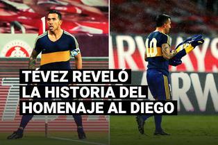 Un obsequio invalorable: Tevez reveló el origen de la camiseta con la que festejó