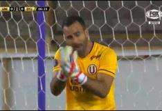 ¡Apareció San José! Carvallo evitó el 1-0 de Defensa y Justicia vs. Universitario [VIDEO]