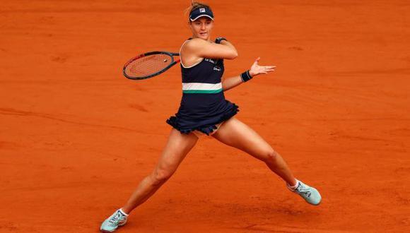 Podoroska no pudo contra la polaca Swiatek en semifinales del Roland Garros 2020. (Foto: WTA)