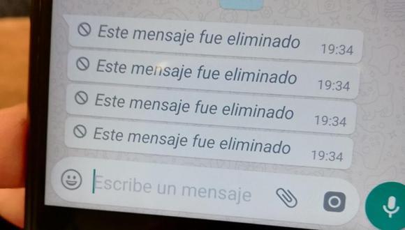 De esta forma podrás volver a ver los mensajes eliminados en WhatsApp Plus. (Foto: WhatsApp)