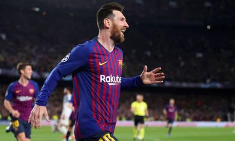Lionel Messi marcó un 'doblete' y consiguió la cifra de 600 goles en clubes. (Getty)