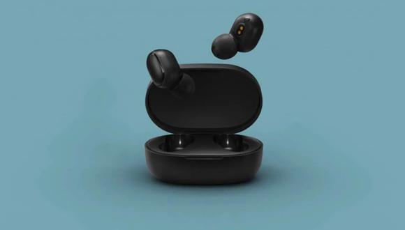 De esta forma podrás tomarte una foto manipulando tus audífonos Xiaomi Redmi Airdots. (Foto: Xiaomi)