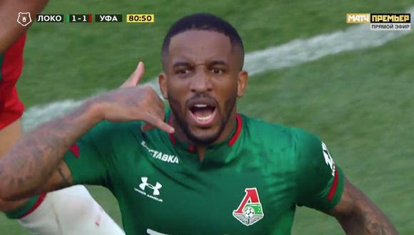 Los hinchas del Lokomotiv de Moscú vibraron con el regreso de Jefferson Farfán.