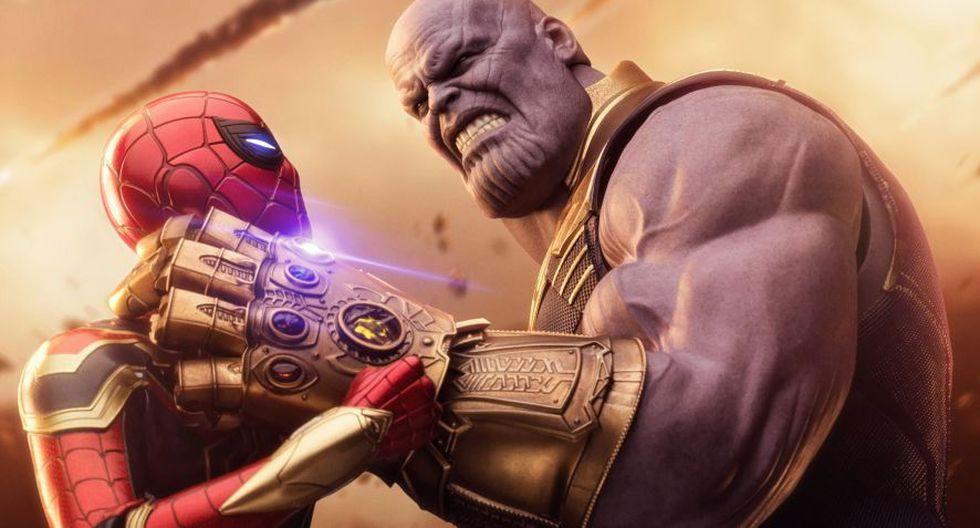 Spider-Man contra Thanos (Marvel)