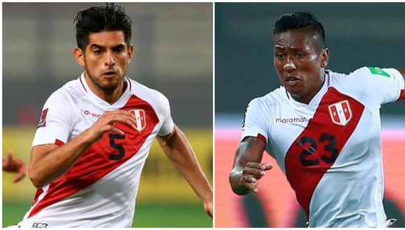 Zambrano y Aquino volverán a la Selección Peruana. (Foto: FPF)