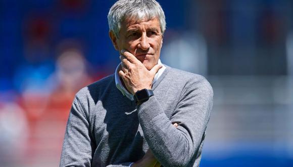 Quique Setién ya es el nuevo técnico del Barcelona hasta junio de 2022. (Foto: Getty Images)