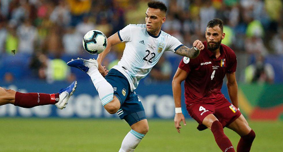 Copa América   Lautaro Martínez - Argentina (Foto: Getty Images)