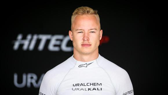 Nikita Mazepin ha demostrado un nulo talento para ser parte de la Fórmula 1. (Foto: EFE)