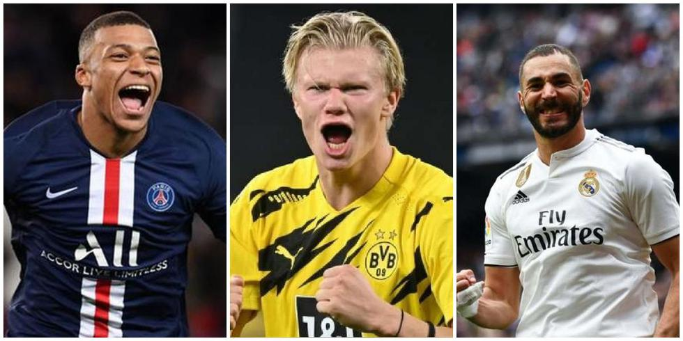 La tabla de goleadores de Champions League. (Foto: AFP)