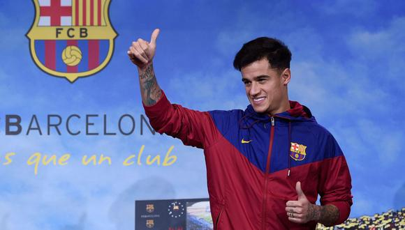Philippe Coutinho llegó al Barcelona en 2018 desde Liverpool. (AFP)