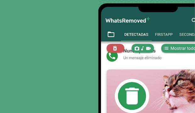 With this application you will be able to see again WhatsApp messages that your friends have deleted.  (Photo: MAG)