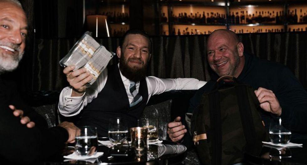 Conor McGregor volvió a UFC tras más de un año de ausencia. (Instagram)