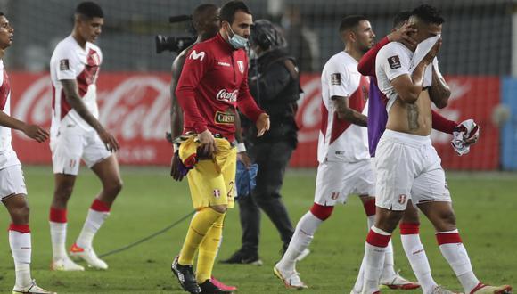Perú cedió un empate ante Uruguay y se complica en las Eliminatorias (Foto: AFP).