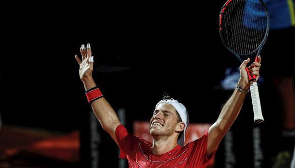 Diego Schwartzman disputará su primera final de Masters 1000. (Foto: EFE)
