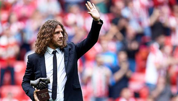 Carles Puyol se retiró en el Barcelona en 2014. (Getty Images)