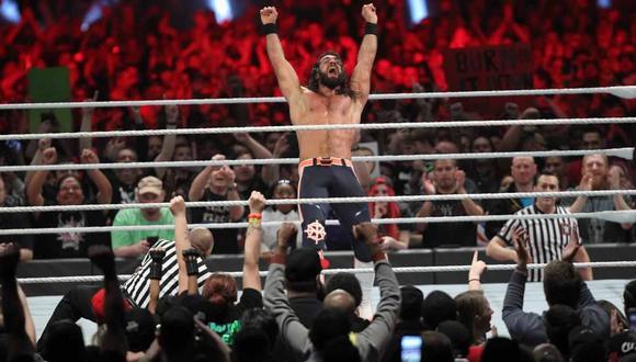Seth Rollins fue el ganador de la batalla campal en Roayl Rumble 2019 y así ganó su derecho para retar a cualquier campeón mundial en WrestleMania 35. (Foto: WWE)