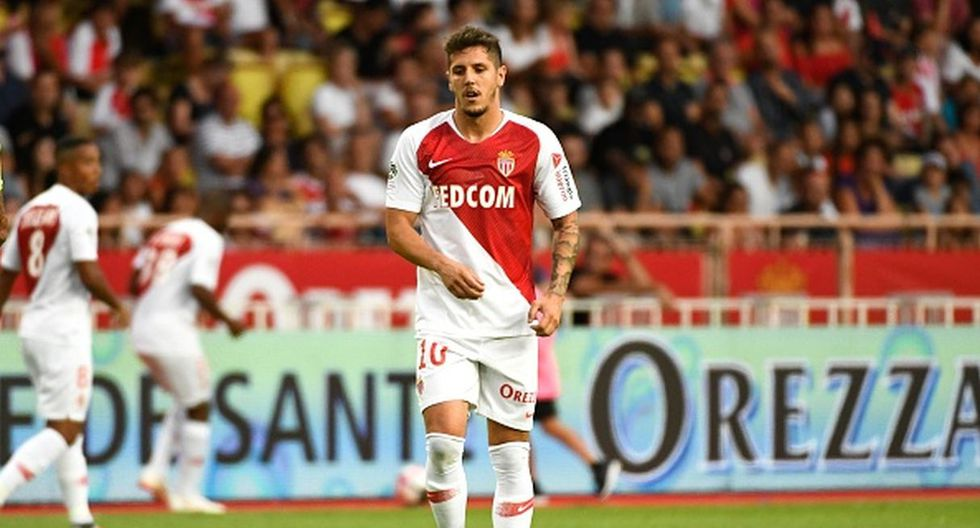 Jugador: Jovetic / Club: AS Mónaco. (Getty)