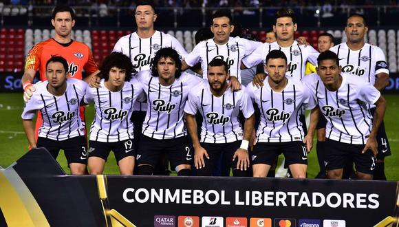 Libertad y su dardo a Boca y a la CONMEBOL. (Foto: Copa Libertadores)