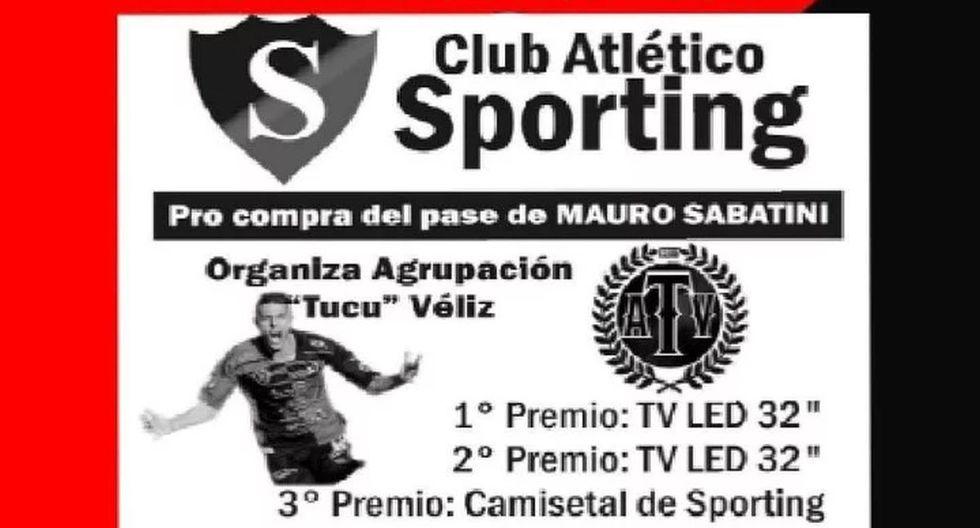 Tarjeta recibida, tarjeta pagada: hinchas argentinos rifan televisores para comprar la ficha de su goleador estrella