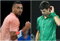 Está indignado: las feroces críticas de Nick Kyrgios a Novak Djokovic por realizar el Adria Tour sin protocolos de seguridad