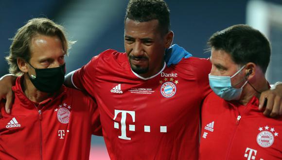 Jerome Boaten, de 32 años, tiene contrato con el Bayern hasta junio del otro año (Foto: EFE)