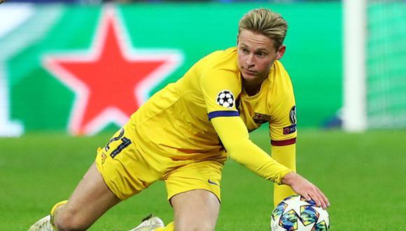 Valverde fue criticado por cómo ubicaba a De Jong en el campo, distinto de cómo jugaba en Ajax. (Getty)