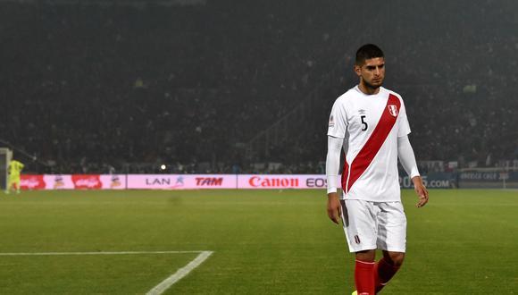 Carlos Zambrano se pronunció tras la salida de Manuel Merino (Foto: AFP / Rodrigo Arangua)