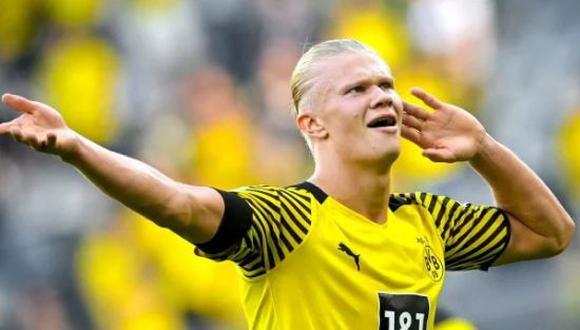 Muchos clubes de Europa se encuentran interesados en Erling Haaland . (Foto: Getty)