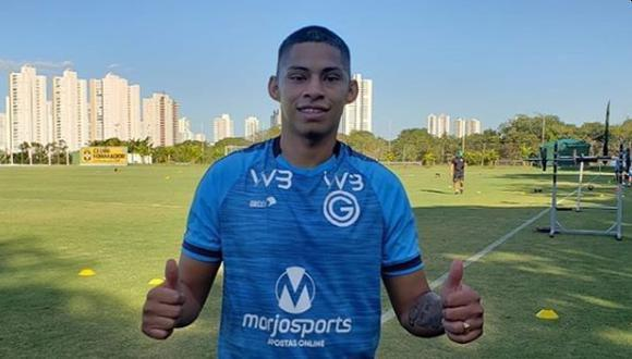 Kevin Quevedo se encuentra como jugador libre tras dejar Goias de Brasil (Foto: Instagram)
