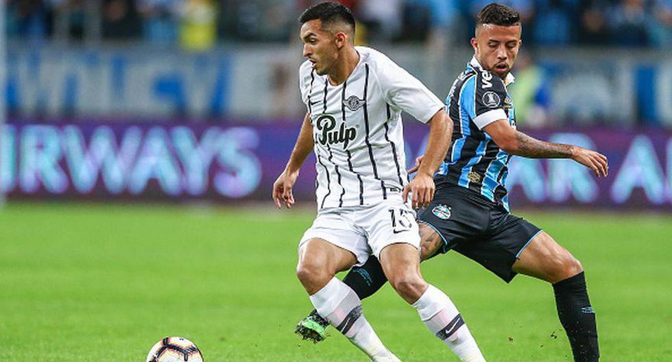 Gremio venció a Libertad por octavos de final de Copa Libertadores en Porto Alegre. (Getty)