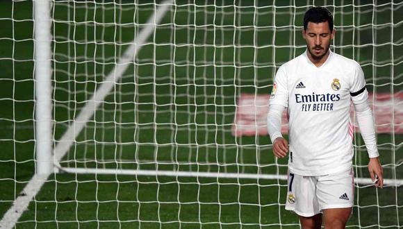 Eden Hazard fue criticado por exjugador de Real Madrid. (Foto: AFP)