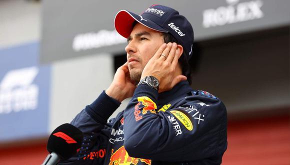 Checo Pérez arrancará segundo en el GP de Emilia Romagna de la F1. (Foto: EFE)