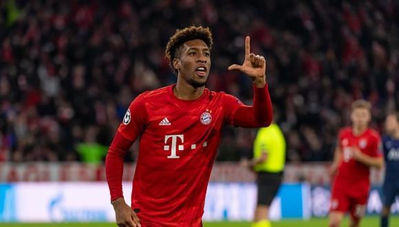 Kingsley Coman tiene contrato en Bayern Munich hasta mediados de 2023. (Foto: Getty Images)